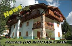 Affitto appartamento Pinzolo Roncone